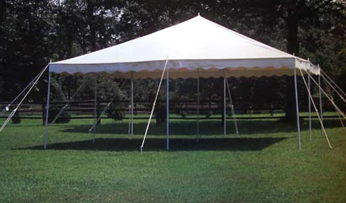 20u0027 x 20u0027 Canopy Tent Package (seats 35) & Jumpinu0027 Jupiter Inflatables - Tent Rentals
